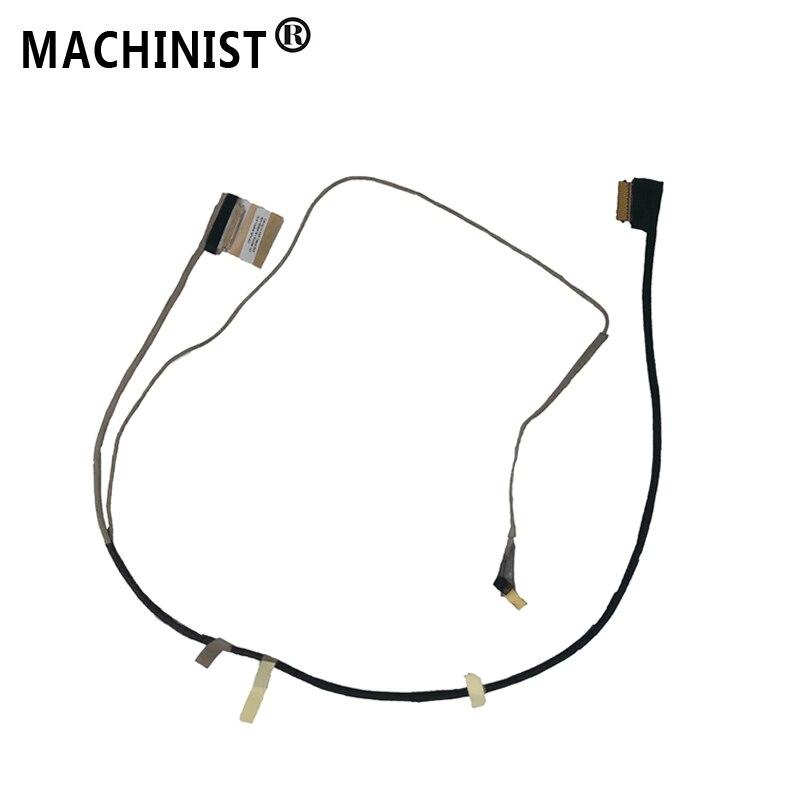 Видео-экран гибкий провод для hp 14-AF 14-AC 240 G4 TPN-L119 010NR 108CA 100 ноутбук ЖК-дисплей светодиодный LVDS лента для показа кабель 6017B0587401