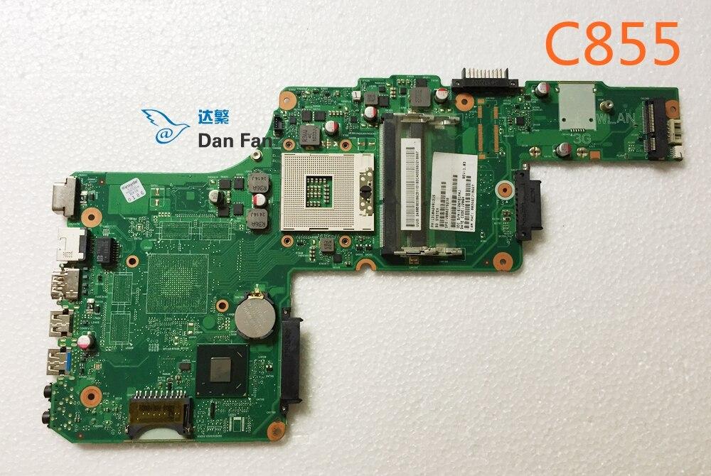 V000275230 para la placa base del Ordenador portátil Toshiba C855 DK10FG-6050A1491301-MB-A02 placa base 100% probado completamente funciona