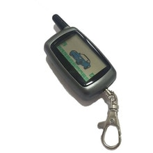 A9 Keychain Key Fob Chain LCD Remote Controller For Twage Starline A9/A8/A6 Two Way Car Alarm System