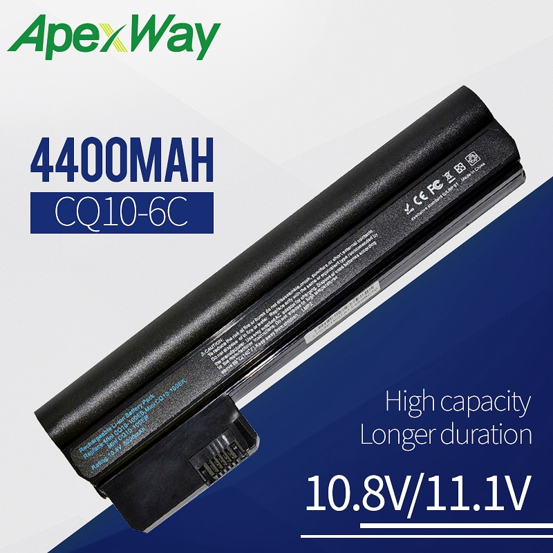 4400mah بطارية لابتوب HP كومباك البسيطة CQ10 06TY 607762-001 607763-001 HSTNN-CB1T HSTNN-CB1U HSTNN-DB1U HSTNN-E04C TY06