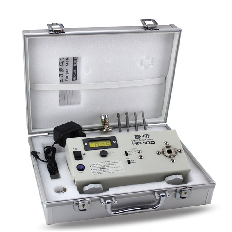 جهاز اختبار عزم الدوران الكهربائي ، جهاز اختبار عزم المحرك الرقمي HP-100