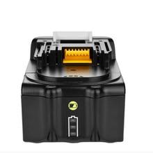 Heißer 18 v 6000 mah Akku mit Led-anzeige für Makita BL1850 BL1840 BL1830 LXT-400 194204-5 Cordless power Tools