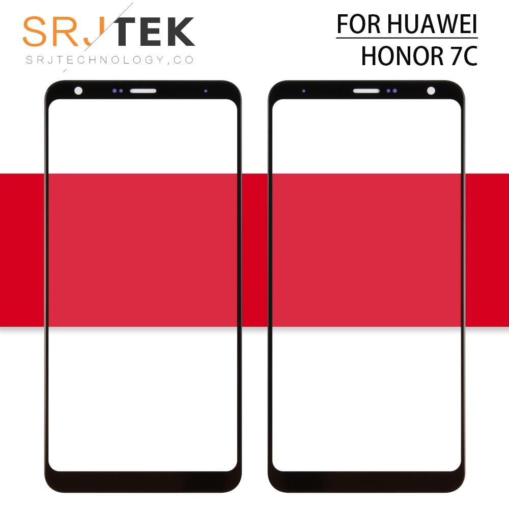 For Huawei Honor 7C Touch Screen Digitizer Sensor Front Lens panel For Huawei Honor 7A Pro aum l29 Glass Lens AUM-L41 AUM-L29