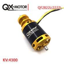 Qx-motor moteur sans balais QF2822L(2222)-4300KV   Moteur de drone, ventilateur canelé 64mm, EDF bricolage, modèle davion, vente en gros, nouveau