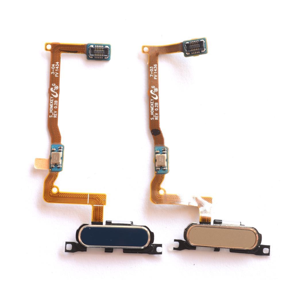 Escáner de huellas dactilares para Samsung Galaxy Alpha G850 G850, Sensor táctil, botón de inicio, cinta de Cable flexible de ensamblaje de retorno