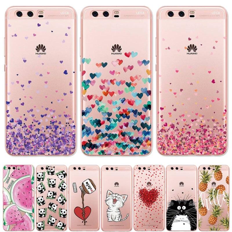 THREE-DIAO Telefon Fall Für Huawei P10 Lite Silicona Zurück Abdeckung Für Huawei P10 Lite Fällen FÜR Fall Huawei P10 P10Lite tasche