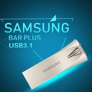 USB флеш-накопитель SAMSUNG, Металлический Мини-накопитель 16 ГБ 32 ГБ 64 Гб 128 ГБ 256 ГБ USB 3,1, карта памяти