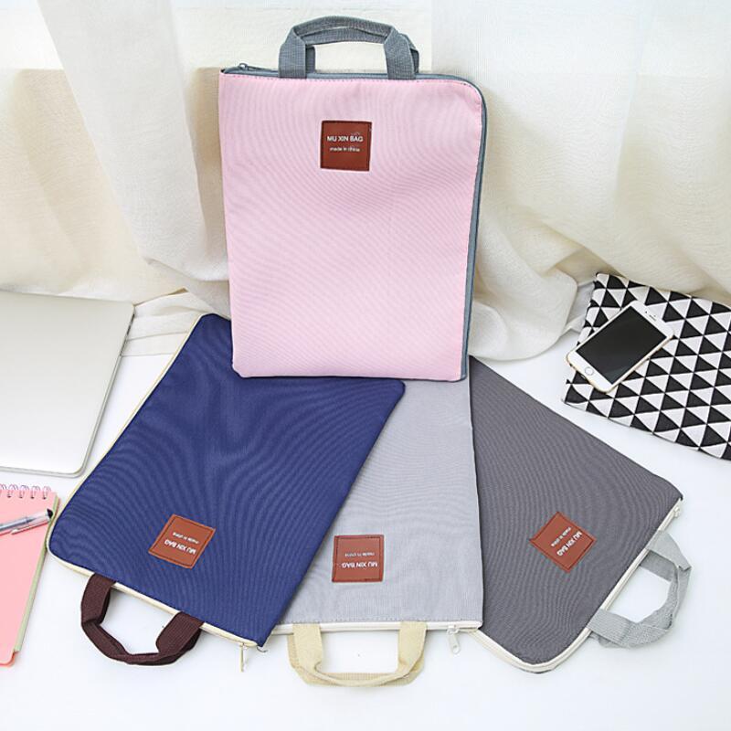 Большой Холщовый портфель A4 для документов, папка для документов, деловой портфель, бумажный органайзер для хранения, сумка для канцелярских принадлежностей, школьные офисные принадлежности