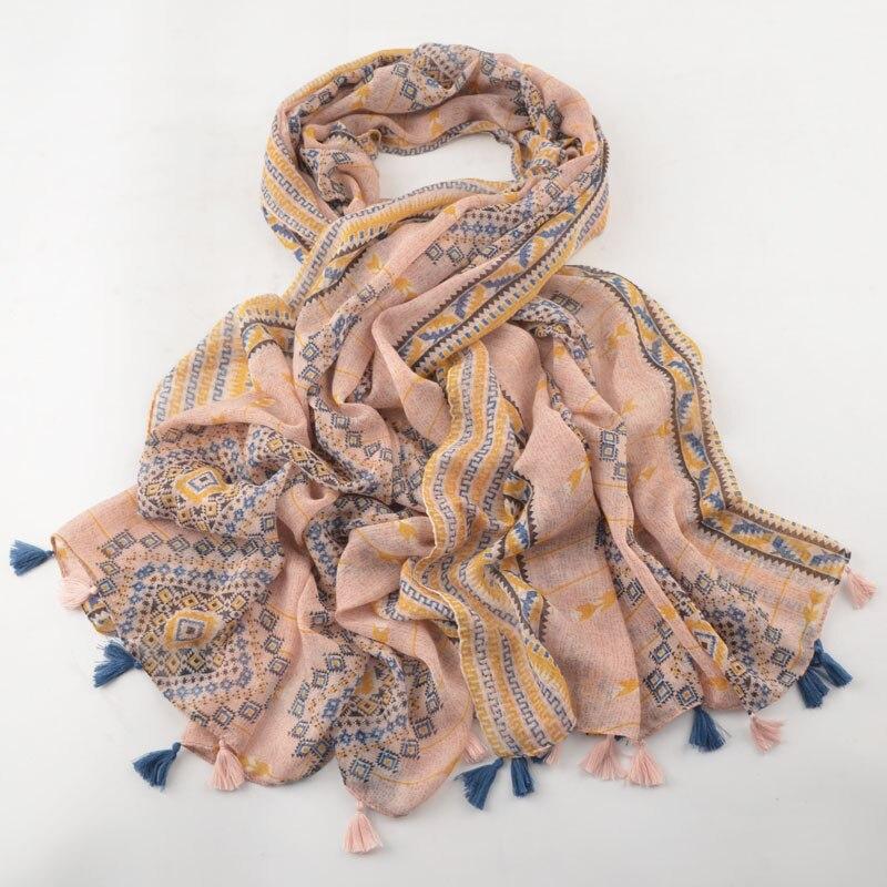 وشاح باشمينا فسكوز كبير وناعم ، حجاب إسلامي ، شالات وأوشحة على الطراز البريطاني ، وشاح هندسي ، رأس ، لفات ، حجاب فسكوز