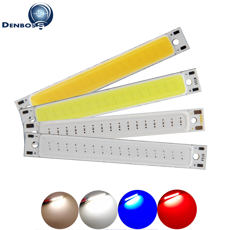 Светодиодная лента DENBOSS, 60x8 мм, 1,5 Вт, 3 Вт, 2 В, 3 в пост. Тока, теплый белый, синий, красный цвет