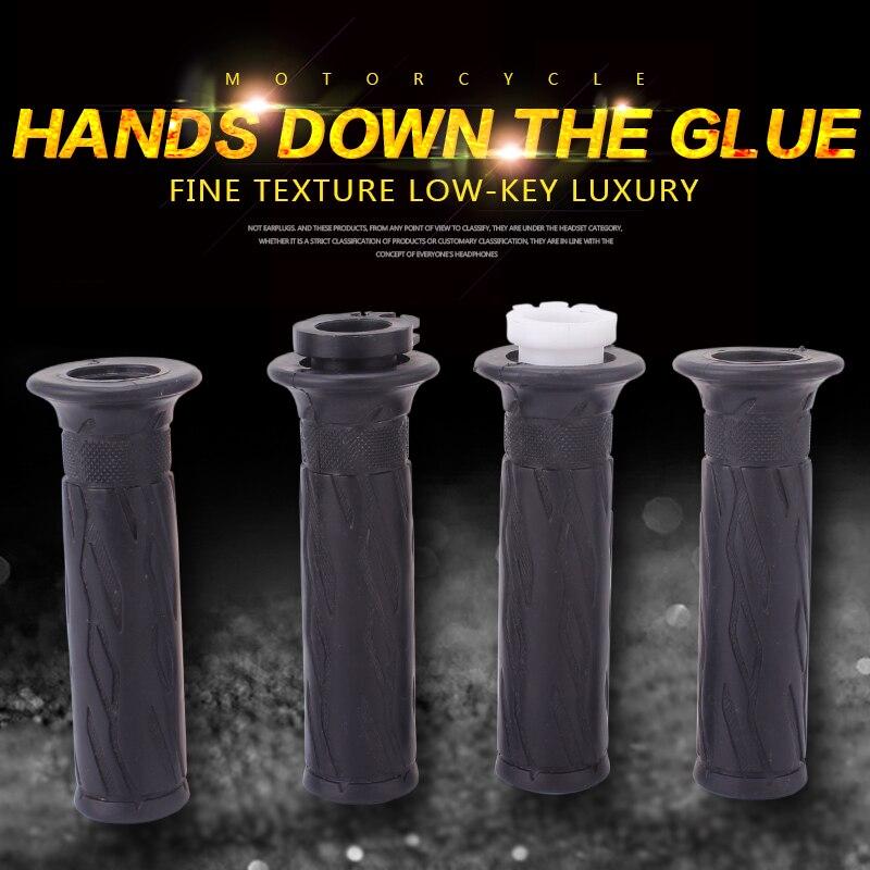 22mm Handlebar Rubber Gloves Hand Grips Set for Suzuki GSXR600 GSXR1000 K1 K4 K6 K8 K11 Motorcycle Accessories