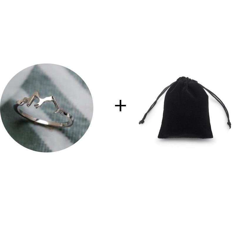 Кольцо для альпинизма, из стерлингового серебра 925 пробы, для спорта на открытом воздухе, серия ювелирных изделий, кольцо для альпинизма YLQ0608