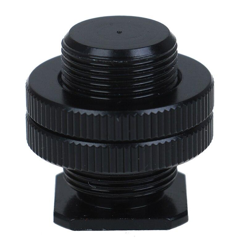 5/8 дюйма 1/4 дюйма Винт для камеры штатив головка микрофон крепление для микрофона кронштейн металлический ударопрочный зажим Горячий башмак адаптер 3 см