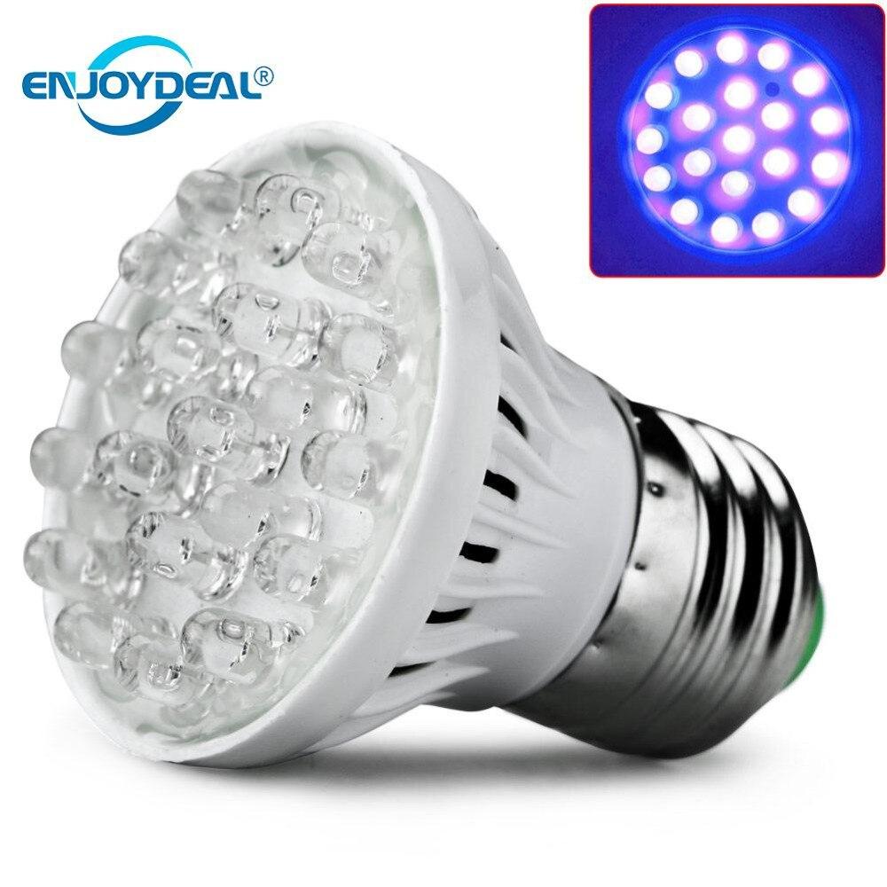Enjoydeal E27 20LED oświetlenie do uprawy roślin lampa żarówka uv energooszczędne oświetlenie do uprawy wewnętrzny hydroponiczny warzyw 220V LED lights