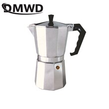 DMWD 1/2/3/6/9/12 Kopjes Kookplaat Koffiezetapparaat Italiaanse Moka Aluminium Mokka espresso Percolator Pot Filter Thee pot Koffiekan Pitcher