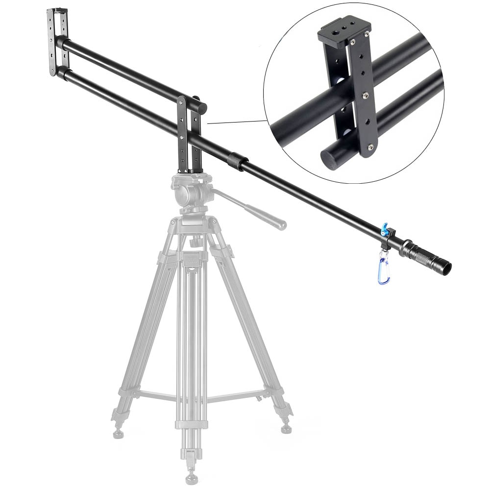 Mini grúa Jib YELANGU DSLR portátil profesional cámara de vídeo extensión brazo grúa Jib para DSLR DV accesorios de estudio fotográfico