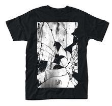 Korn تحطيم الزجاج قميص S متر L XL XXL 3XL Offcl تي شيرت المعادن روك باند التي شيرت جديد