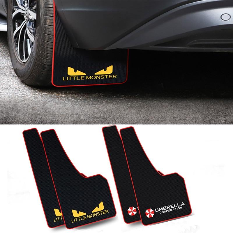 Guardabarros de estilo deportivo guardabarros para Volvo S60 XC90 V40 V70 V50 V60 S40 S80 XC60 XC70 Nissan Qashqai X-TRAIL
