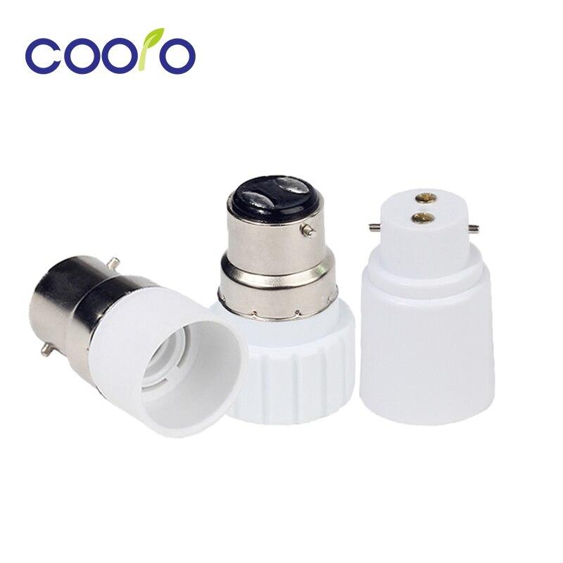 Tipo b22 para e14/e27/gu10 conversor lâmpada soquete base de lâmpada led adaptador de luz suporte da lâmpada