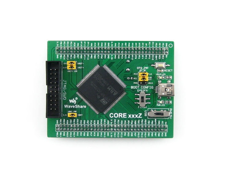 Core407Z кордовая плата STM32F407ZxT6 STM32F407 STM32 ARM Cortex-M4 оценочная плата с полным IOs