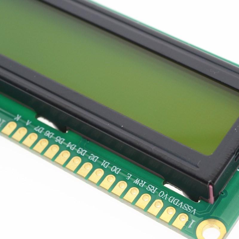 Écran vert LCD1602 5V avec code blanc pour arduino, module d'affichage LCD à caractères 16x2, 1 pièces, 1602