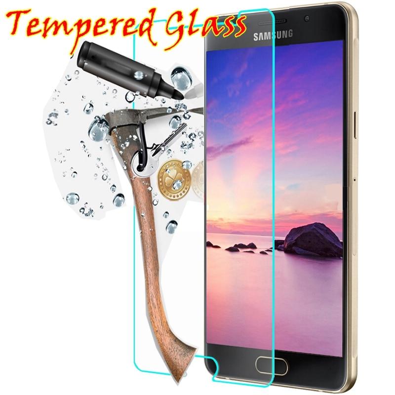 9h vidrio templado para Samsung A5 Galaxy grand prime A3 SM G530 G530H S2 S3 S4 S5 S6 GT i8552 G850F Protector de pantalla caso 2016