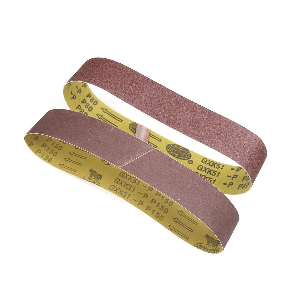 1 stuk 686 * 50 mm schuurband, schuurband voor hout en zacht metaal - Schurende gereedschappen - Foto 2
