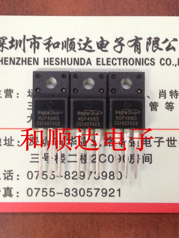 5 pcs/MDF4N60 TO-220F 4N60 TO220F