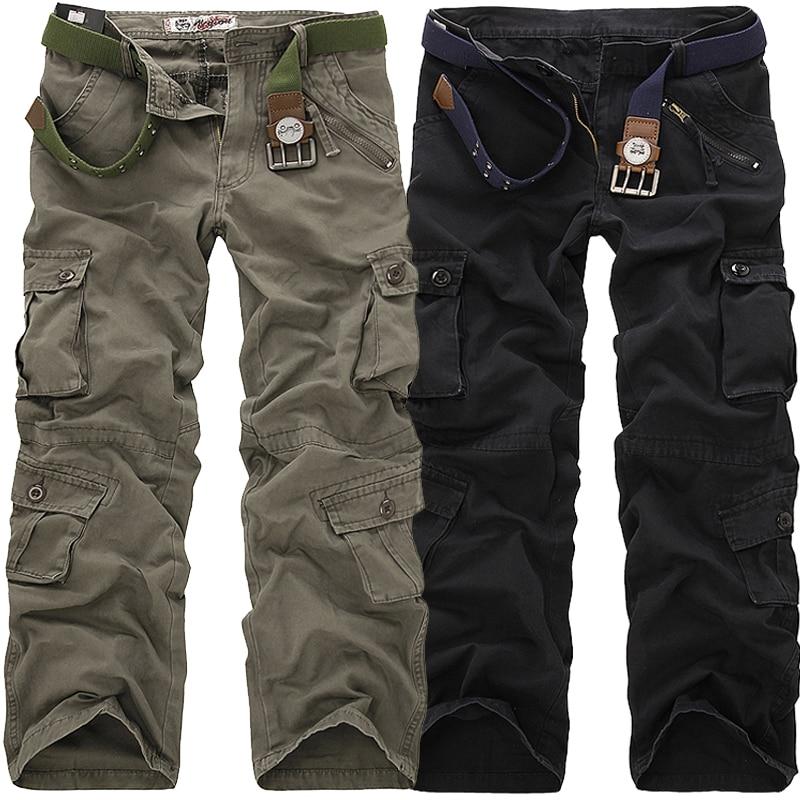 Marca favocent 2019 Venta caliente marca 3 color moda hombres ejército cargo pantalones camuflaje pantalones para hombres talla 29-38 pantalones Casuales