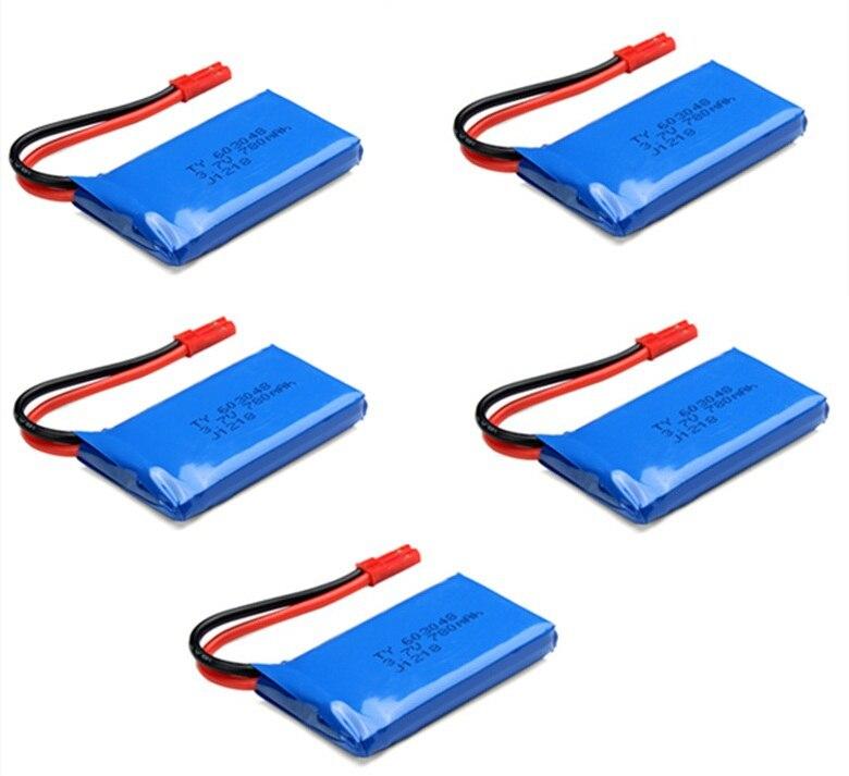 Wltoys v626 v636 v686 2.4g rc quadcopter rc zangão bateria de reposição 3.7v 780mah li-polímero bateria