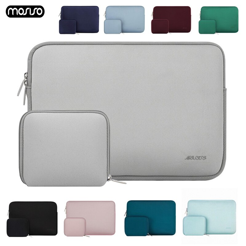MOSISO Laptop Bag Case 11.6 12 13.3 14 15.6 inch Notebook Sleeve Bag For Macbook Air Pro 13 15 Dell Asus HP Acer Cover Women Men