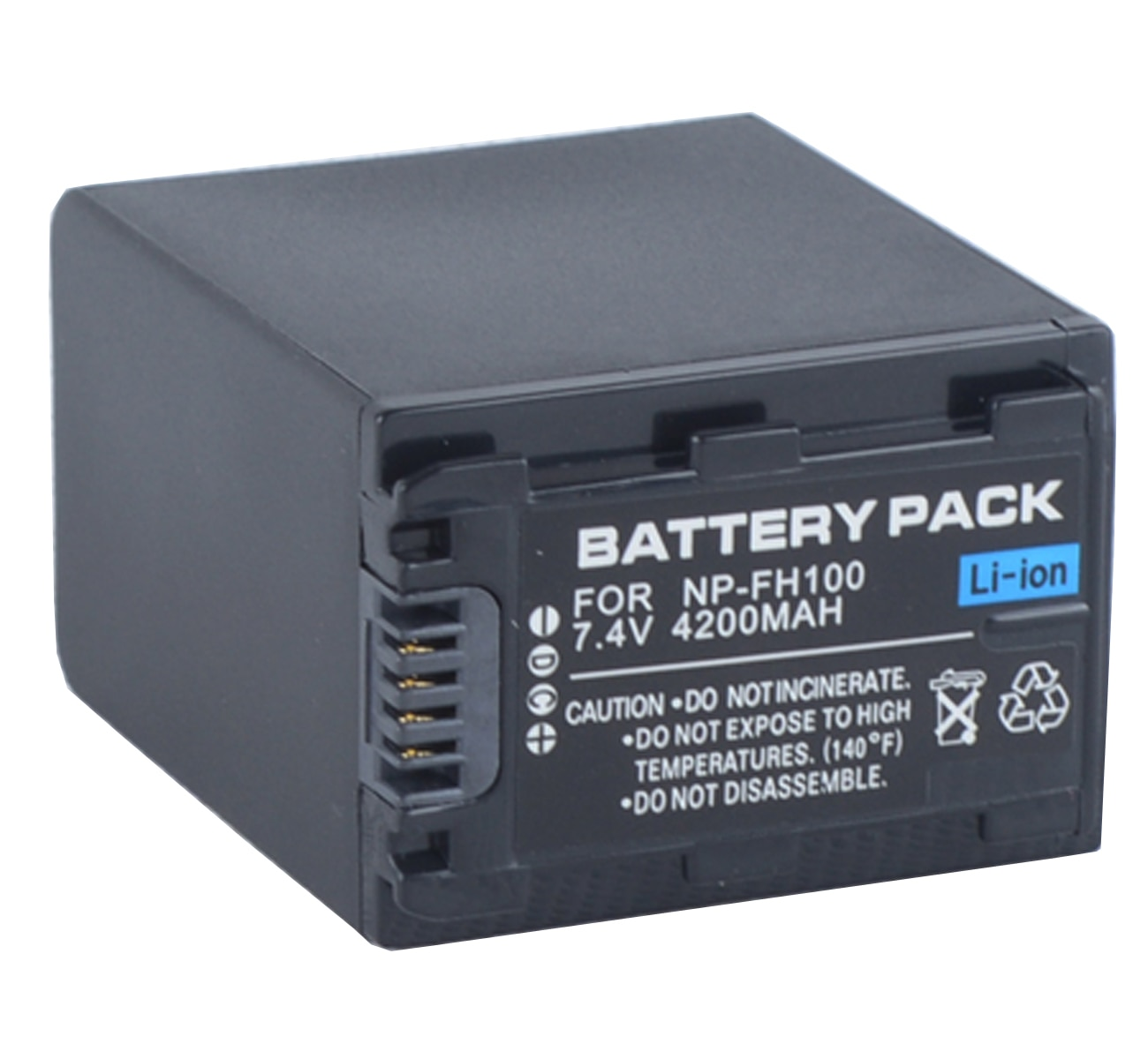 Paquete de baterías para Sony DCR-HC45E, DCR-HC47E, DCR-HC48E, DCR-HC51E, DCR-HC52E, DCR-HC53E, DCR-HC54E