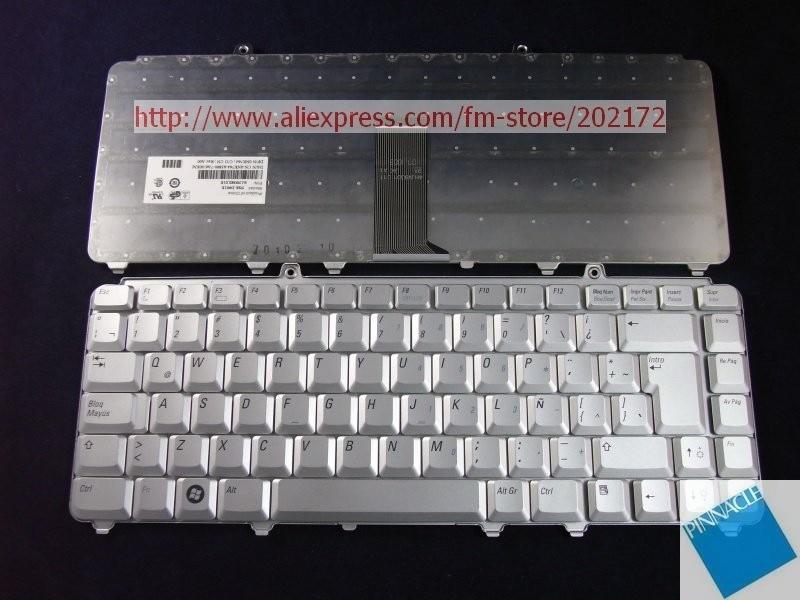 Usado como nuevo teclado de ordenador portátil plateado 0NK764 NSK-D901E 9J. n9382.01E para Dell Inspiron 1420 1520 XPS M1330 (España)