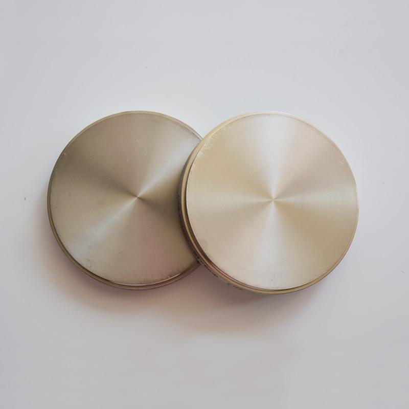 3 unids/lote discos dentales de titanio de alta pureza TA2 para máquina de fresado CAD/CAM producto Dental