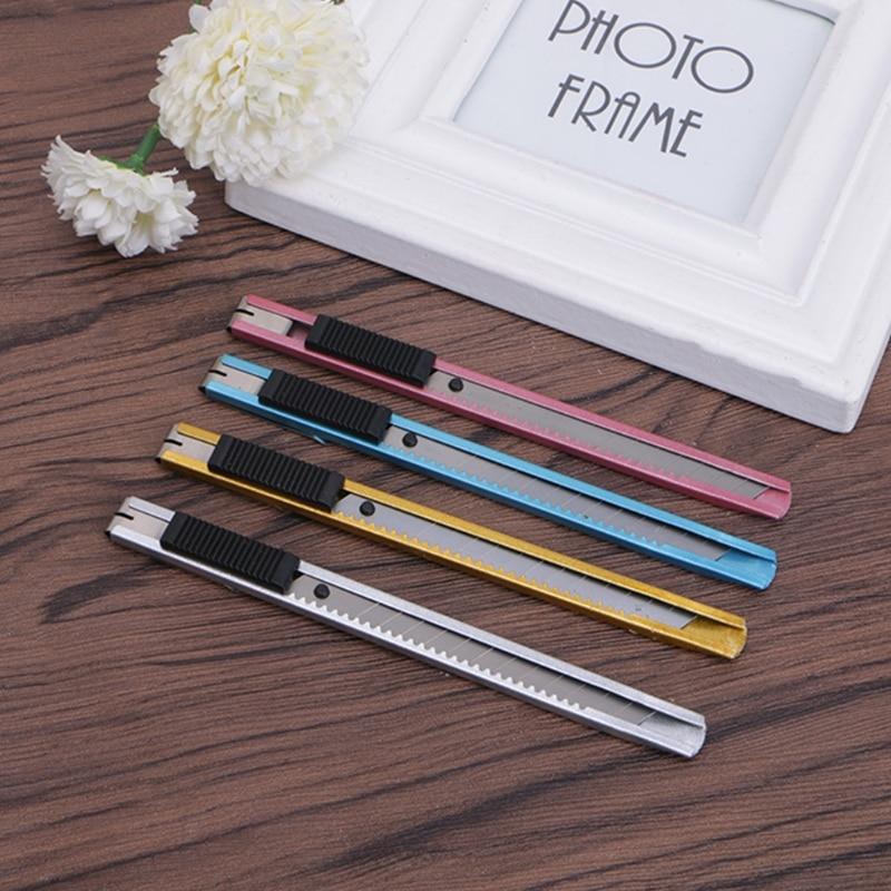 Snap Off Utility Knife Multi Box Cutter Rustproof For Carpet Rope Cardboard