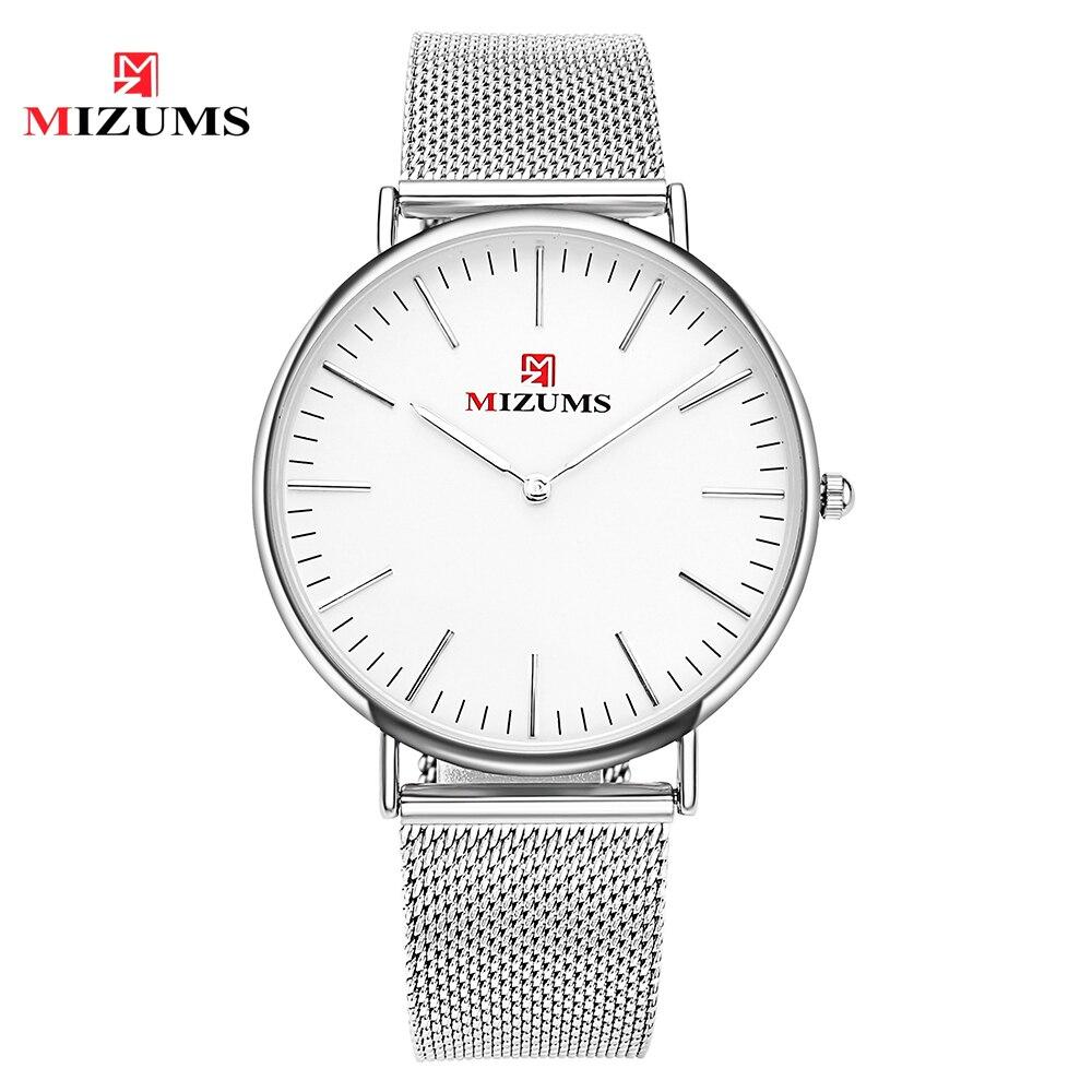 Men Watches Analog Quartz Watch Fashion Ultra Thin Business Waterproof Sport Men's Casual Wrist Watch 8009