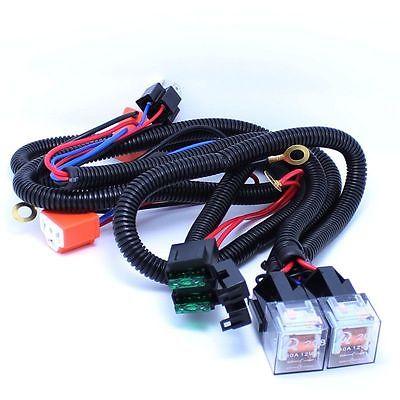 1 set - H4+H4 Car increase brightness relay Extreme Headlight booster
