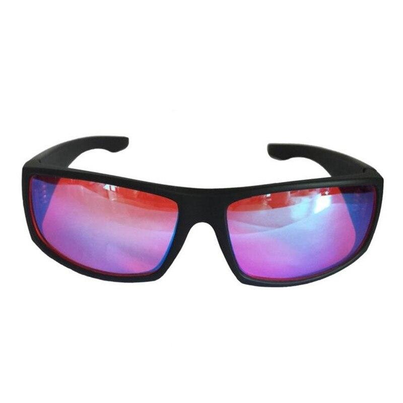 ZXTREE-نظارات شمسية للرجال والنساء ، عدسات تصحيح العين ، عدسات حمراء وخضراء ، بطاقة اختبار رخصة القيادة ، Z391