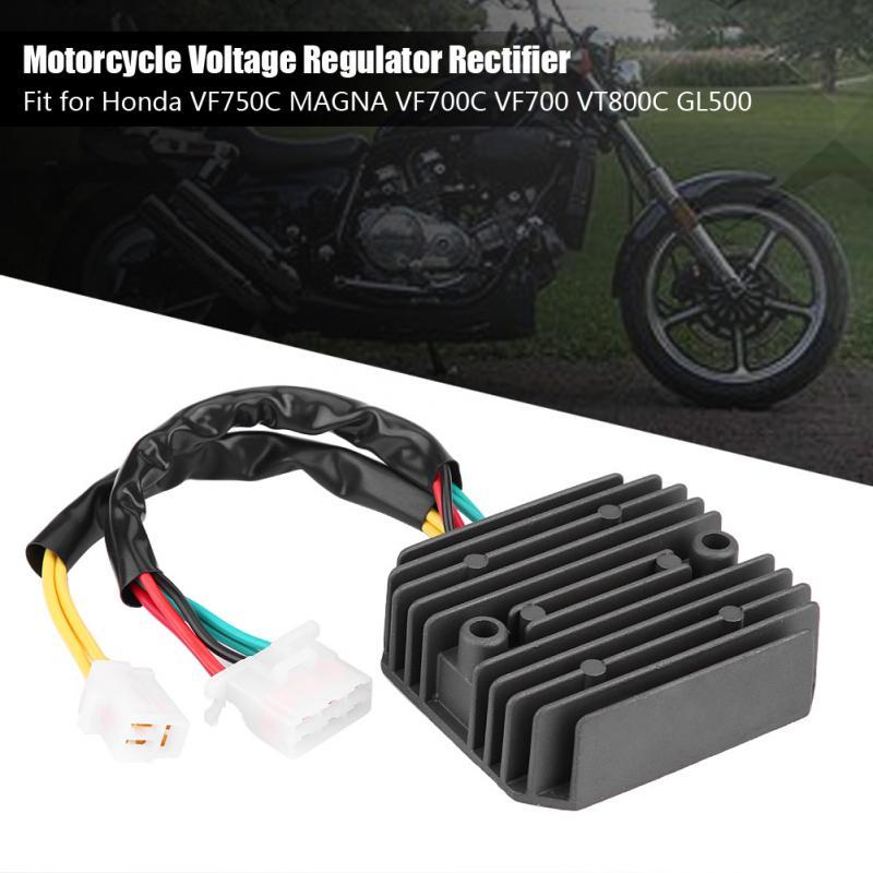 1 Uds. Rectificador regulador de voltaje duradero para motocicleta Honda VF750C MAGNA VF700C VF700 VT800C GL500 accesorios para motocicleta