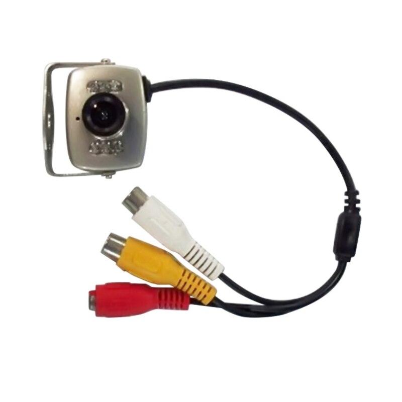 Mini cámara 120 grados gran angular lente 600TVL Color Micro Cámara FPV PAL/NTSC Mini videocámaras