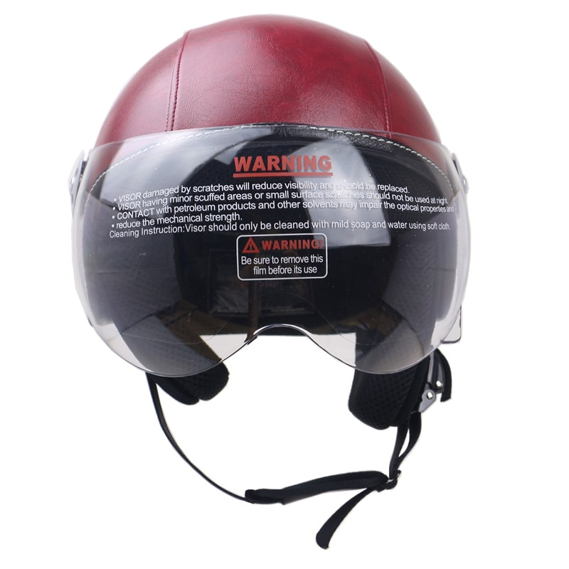 Scooter bike helmet E-Bike curiser motorcycle helmet DOT approved fashiona and leisure casco safety first