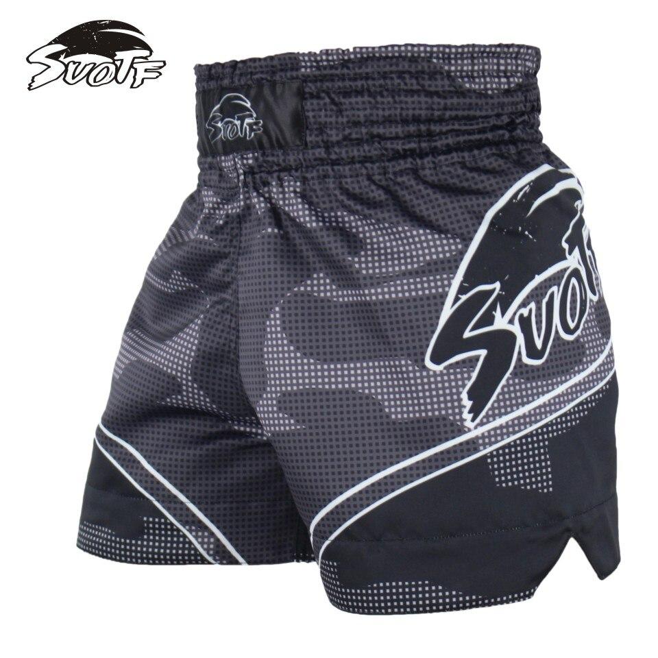 Спортивные боксерские шорты SUOTF белый тигр Специальные для тренировок