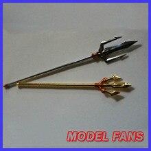 Modèle FANS saint seiya tissu mythe balance/poséidon métal arme Trident ne contient pas de figure