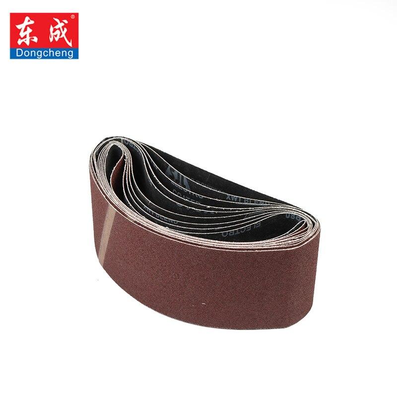 Dongcheng 5 pcs 100*610mm Correias de Lixa Abrasivos Grit Moedor Lixadeira Mayitr Bench Arquivo Polimento Acessórios de Longa Duração