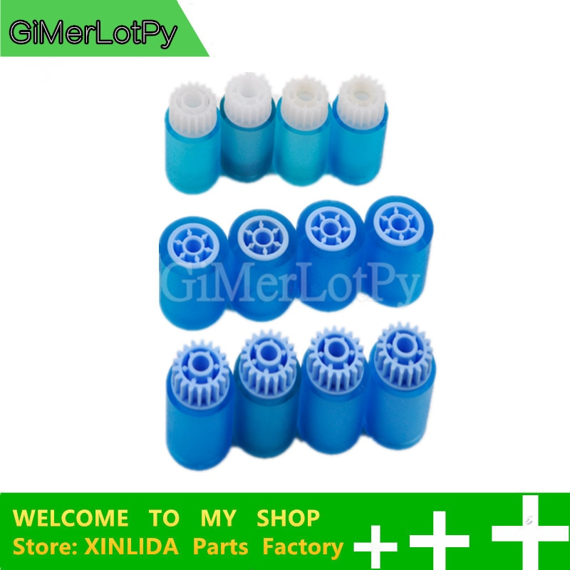 GiMerLotPy AF03-2080 AF03-1082 AF03-0081 recoger de Kit para Ricoh Aficio 1075 de 2060 de 2075 MP1350 MP7500 MP6000 8001, 9001 4 conjunto
