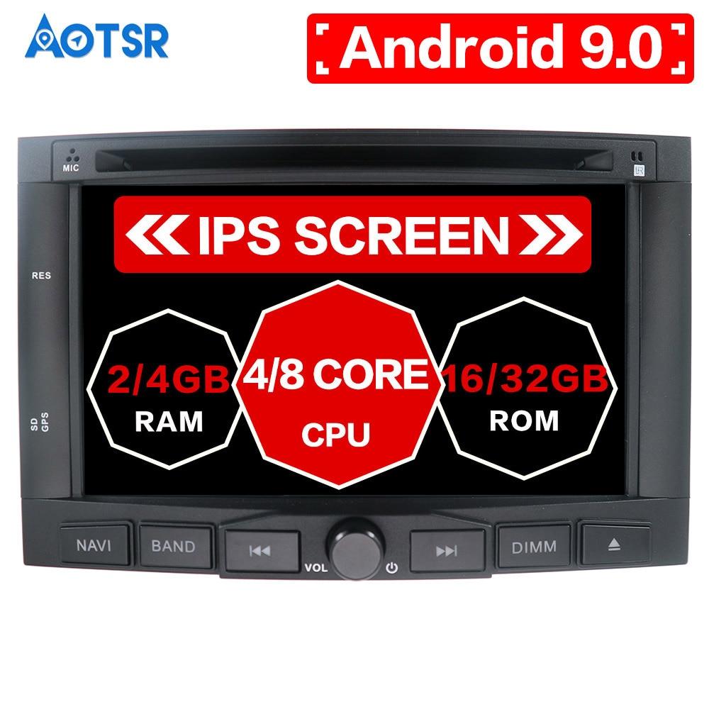 Android 9,0 PX5 32GB reproductor de DVD de coche para Citroen Berlingo Peugeot Partner Auto Radio FM RDS estéreo Glonass de Audio Video Multimedia