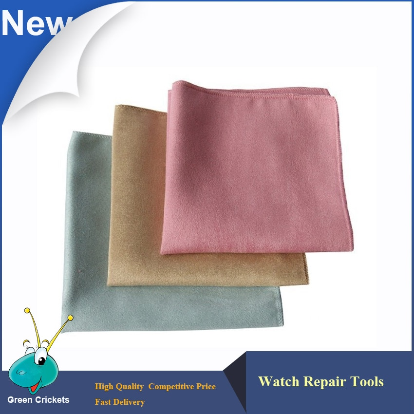 Wholesale 5pcs/lot Watch Clean Tool Micro fiber Watch and Jewelry surface Clean Cloth watch cloth