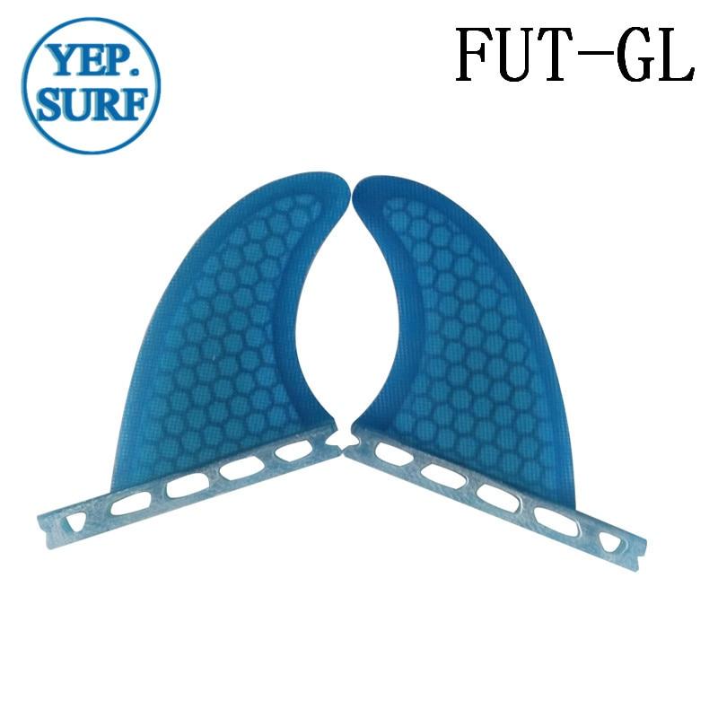 Futuro gl azul prancha fin quad fin conjunto fibra de vidro favo mel fin laranja