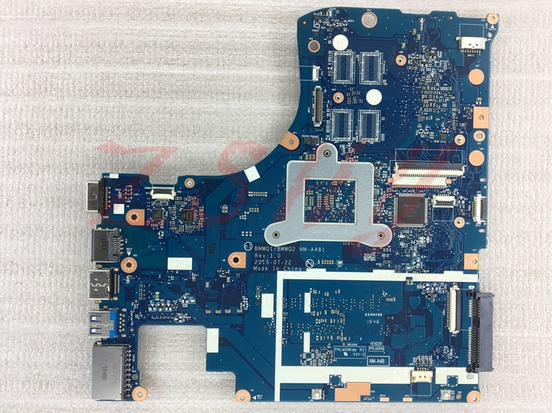 Para lenovo 300-15ISK BMWQ1BMWQ2 NM-A481 i7 Laptop Motherboard 100% Testado