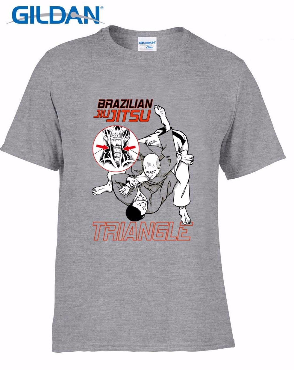 2019 nueva venta caliente 100% algodón llegada Stringer hombres gratis China Post Shipping Bjj brasileño Jiu Jitsu triángulo camiseta
